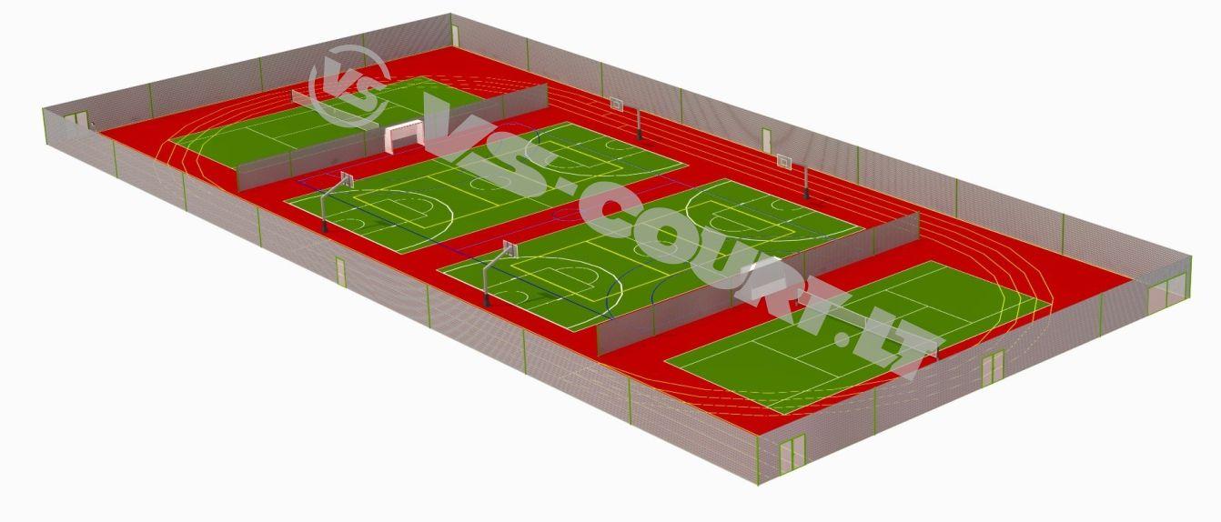 multifunkcinis sporto kompleksas